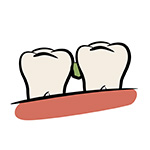 Zahnzwischenräume reinigen